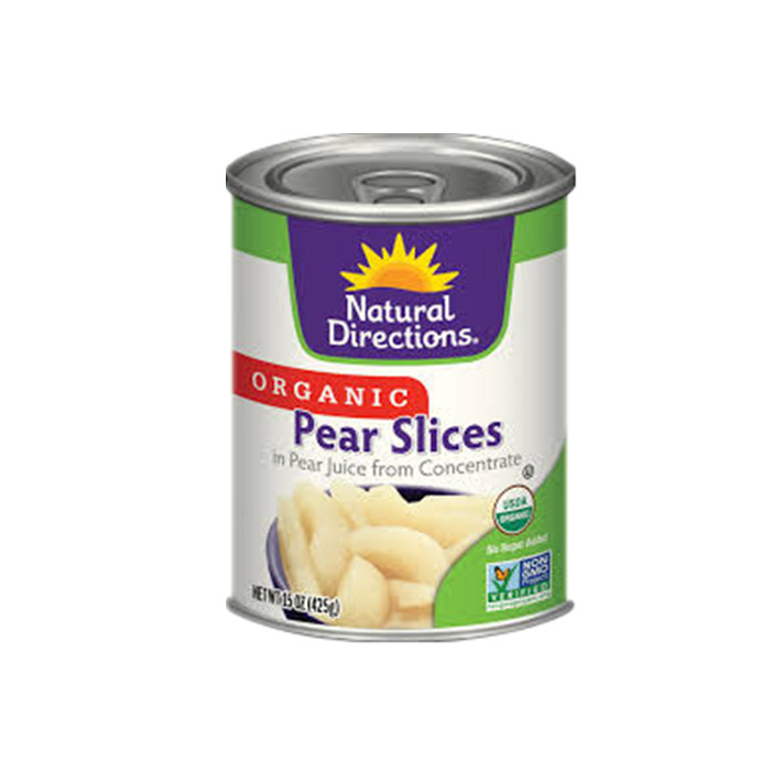 820g canned pear diced