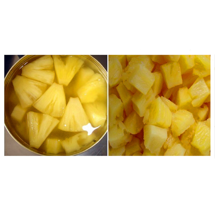 3000g canned pineapple pieces