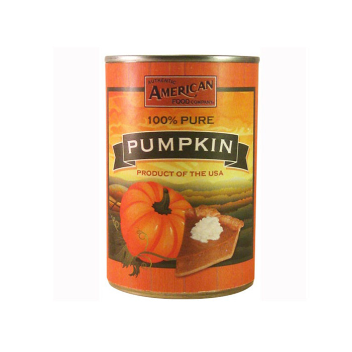 canned pumpkin factory
