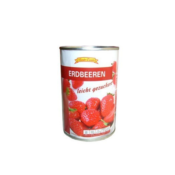 820g canned strawberry