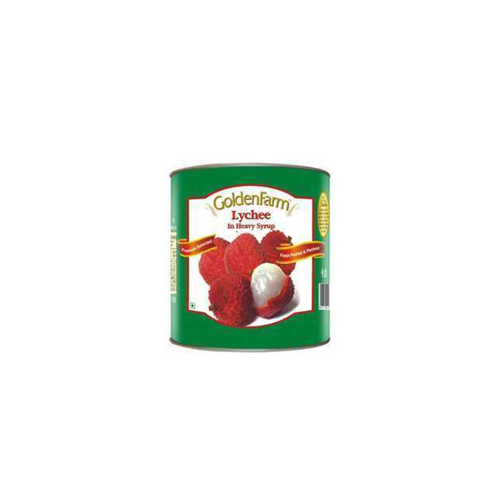 820g fresh canned lychee in light syrup
