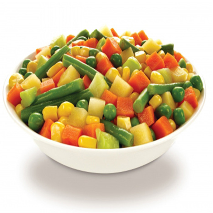 3000g canned mixed vegetables factory