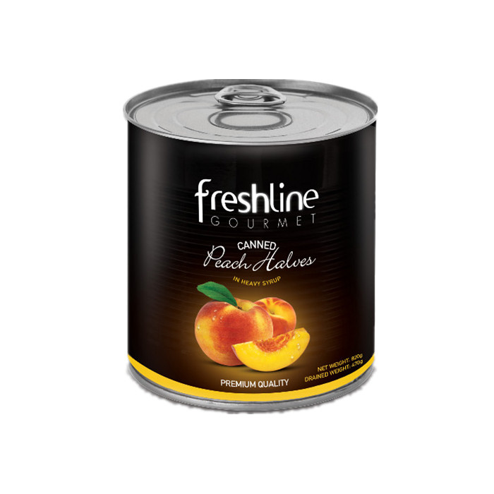 820g canned peach sliced