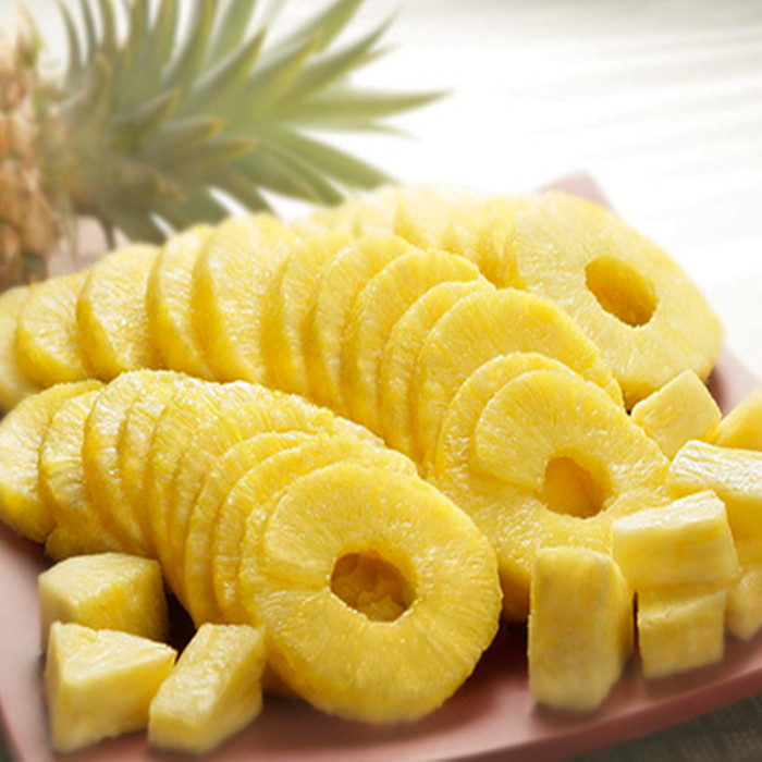 canned pineapple in China