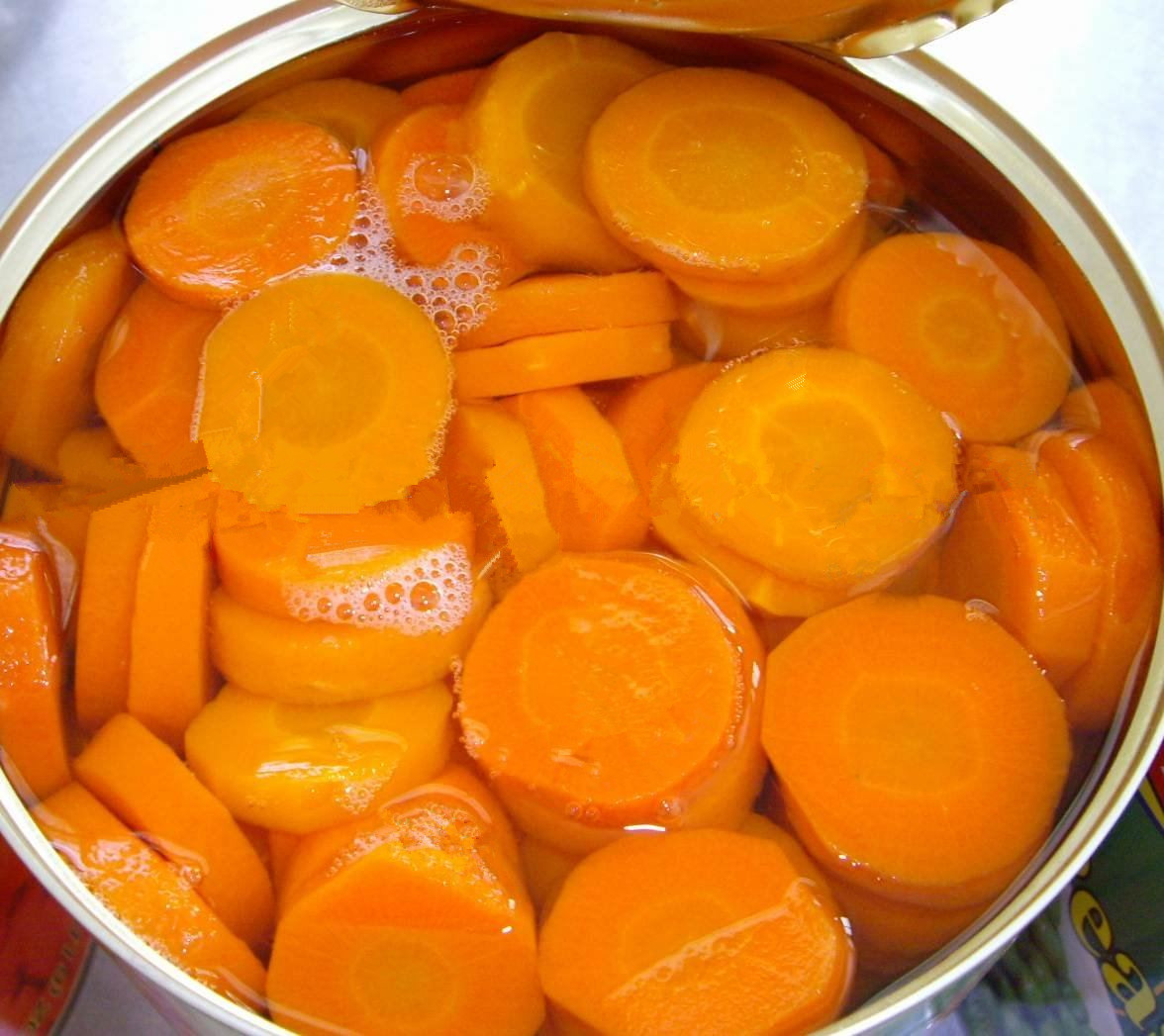 820g canned slice carrot