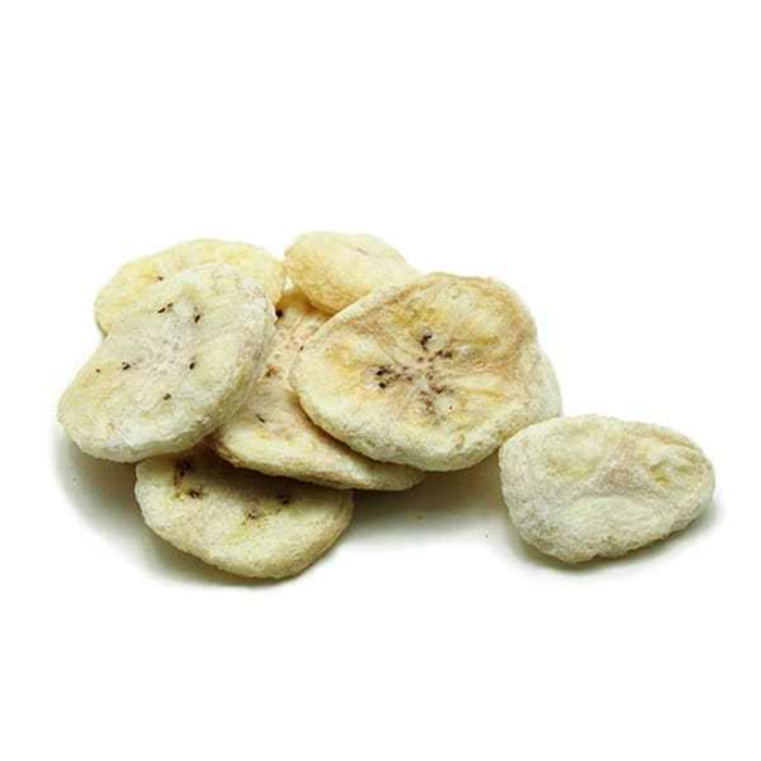 fruit of dried banana diced