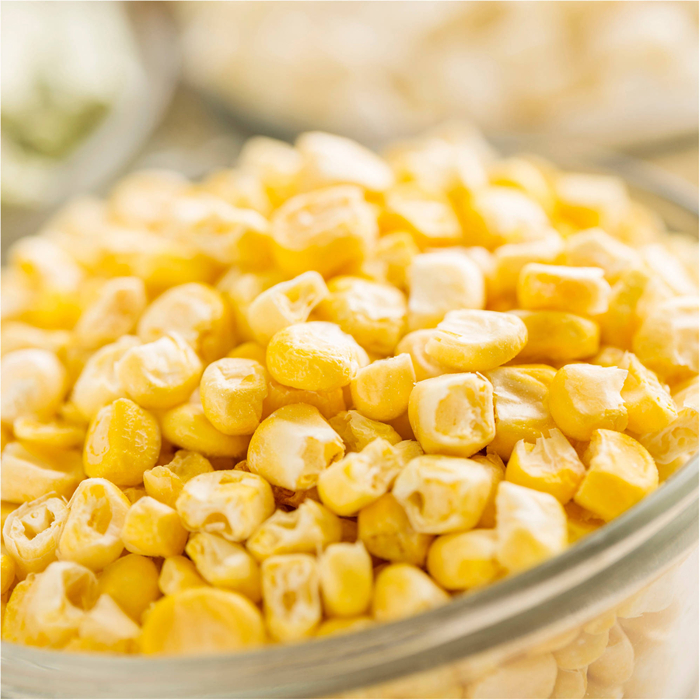 freeze dried corn