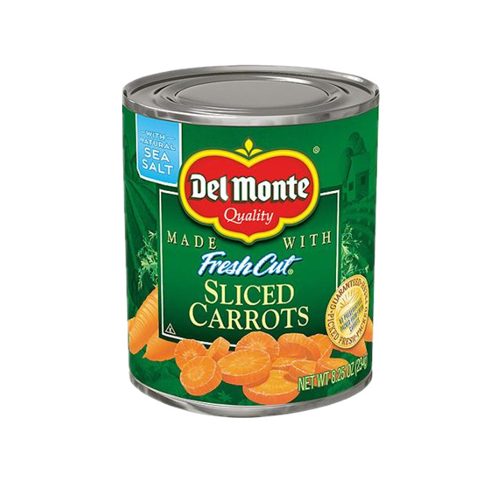 canned slice carrot