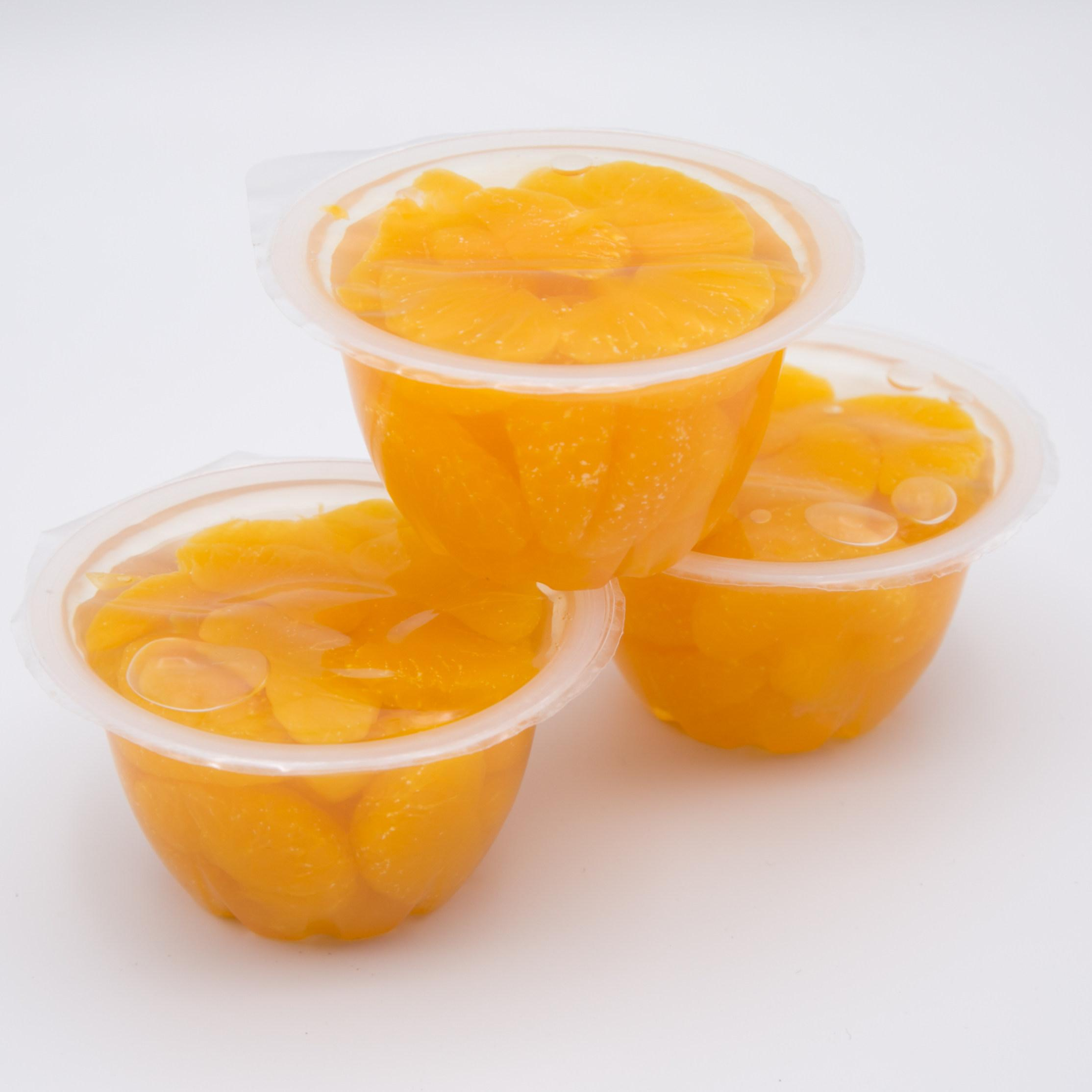 Fruit cups factory china for Canned fruit distributor