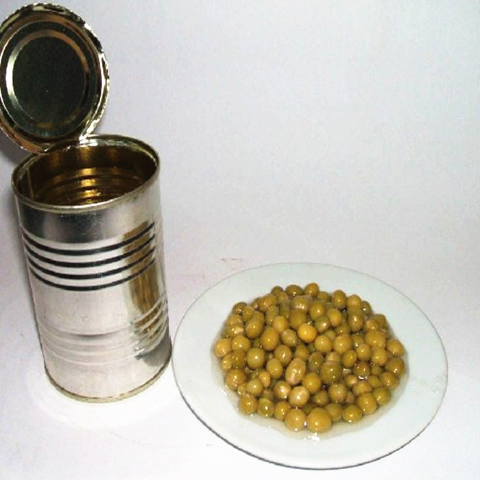 Canned green peas factory