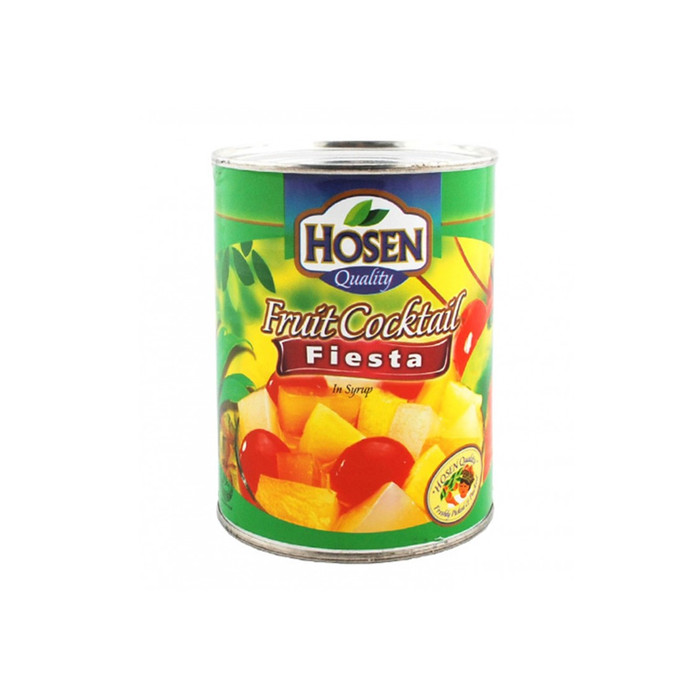 820g canned fruit cocktail ingredients