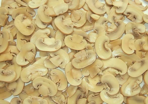 how to clean sliced mushrooms