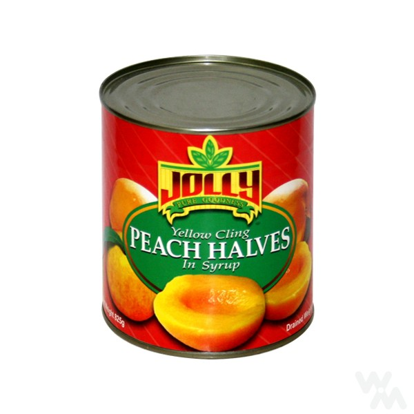 3000g Canned peach halves in tin
