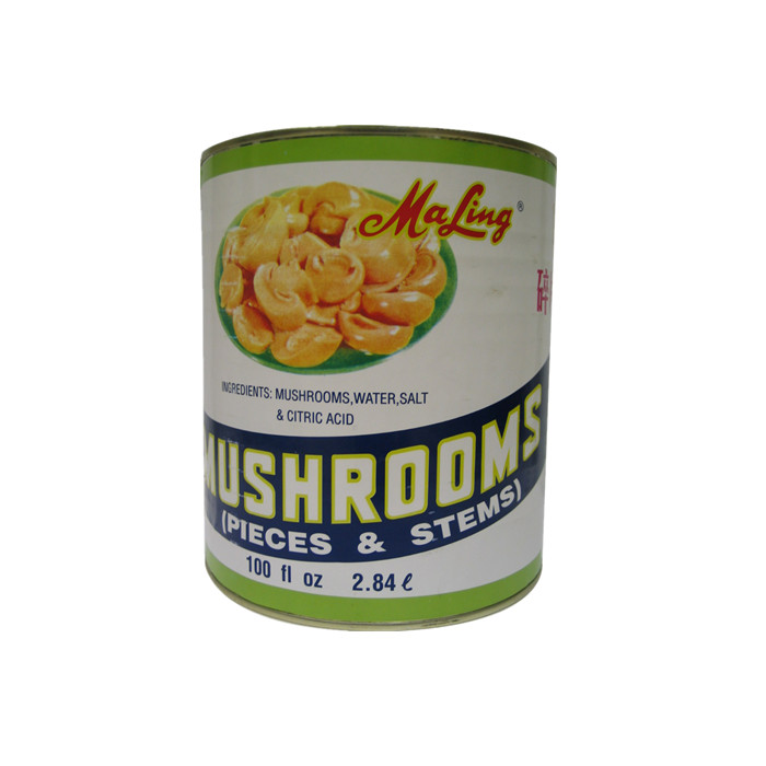 800g canned Chinese mushroom