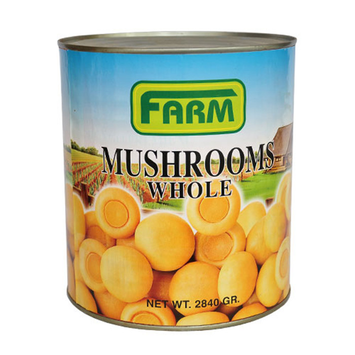 2840g canned mushrooms factory