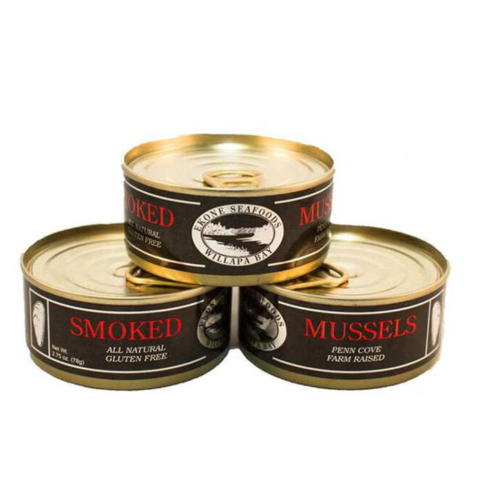 canned mussels in oil