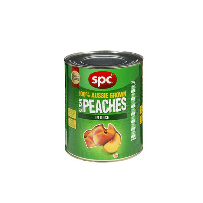 3000g HALAL certificated canned Yellow Peach