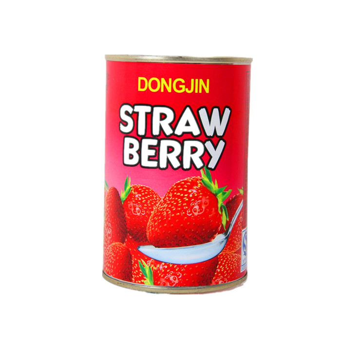Canned Strawberry In Syrup