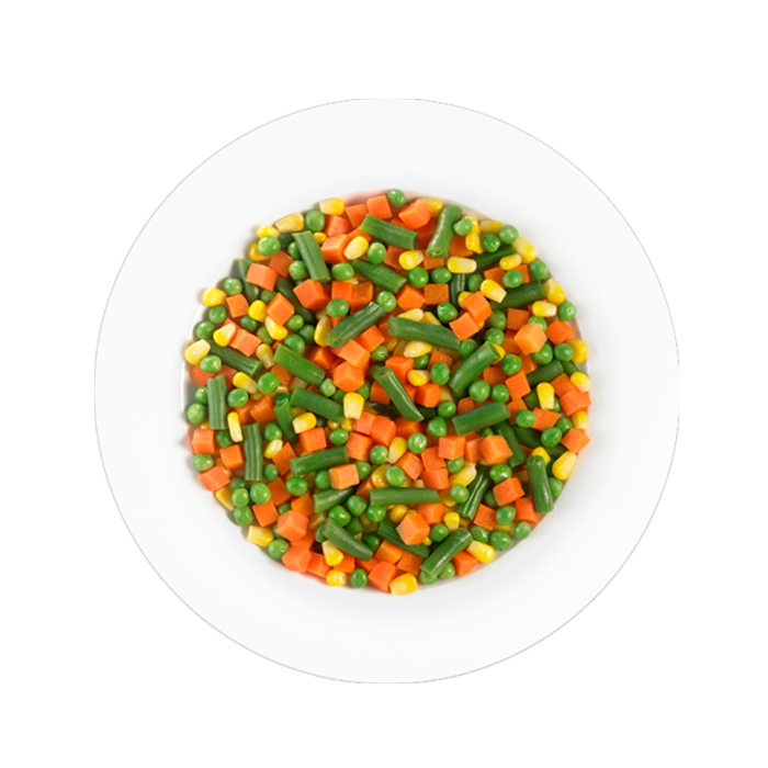 425g canned mixed vegetables