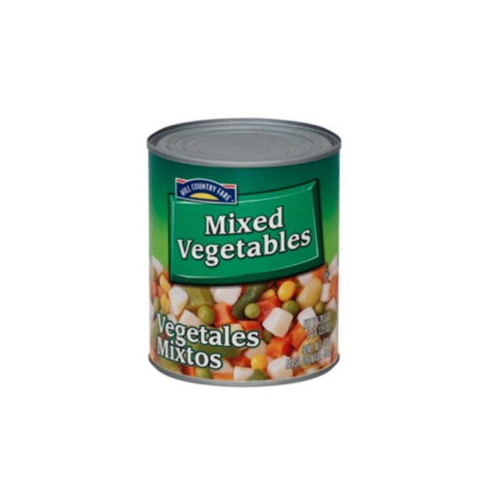 820g canned mixed vegetables