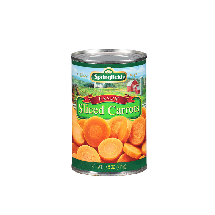 425g canned slice carrot