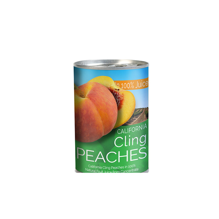 425g Canned peach halves in tin