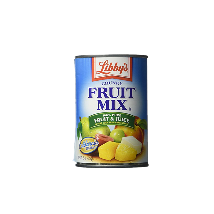 425g low price canned fruit cocktail