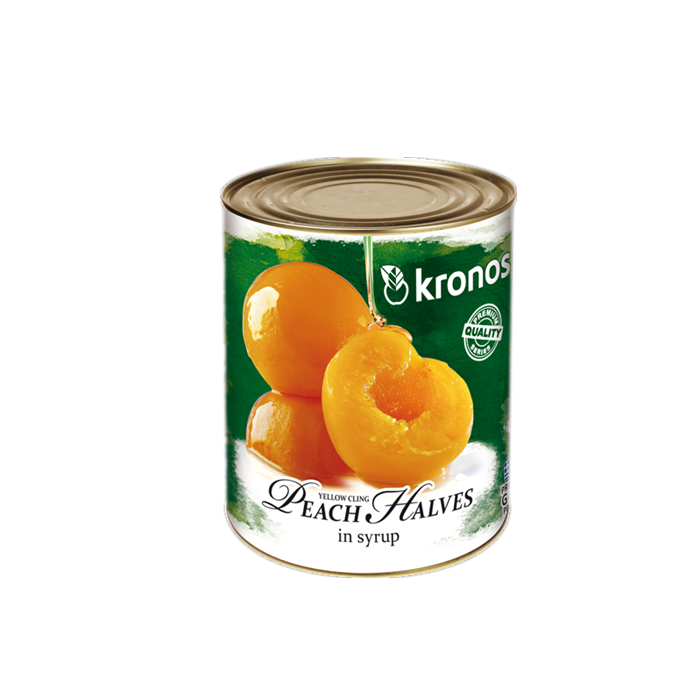 820g canned cling peach without stone