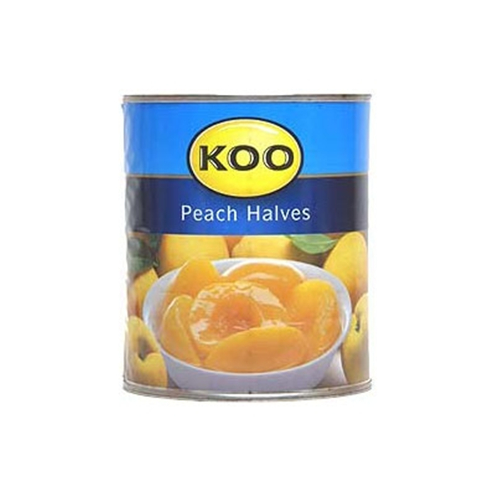 820g canned peach in light syrup