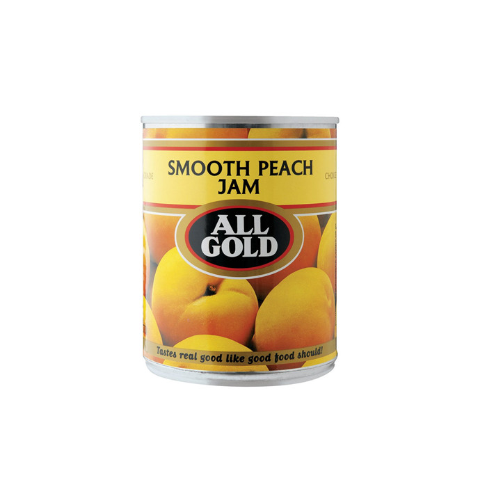 sweet canned peach in halves