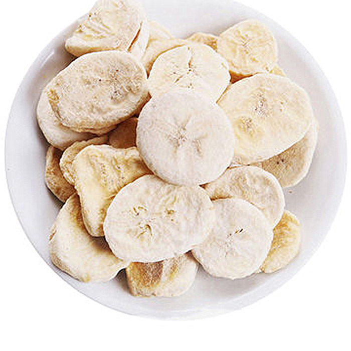 freeze banana slice chips