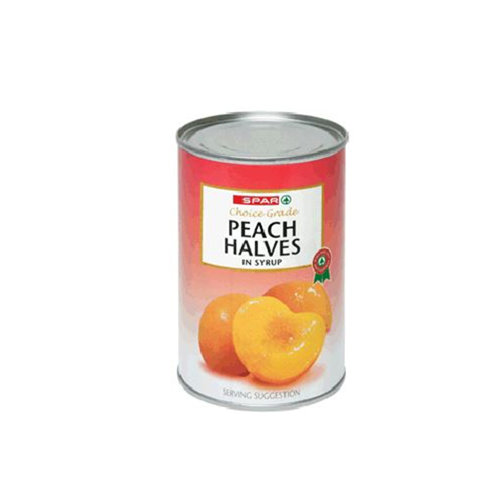 fresh canned peach dice