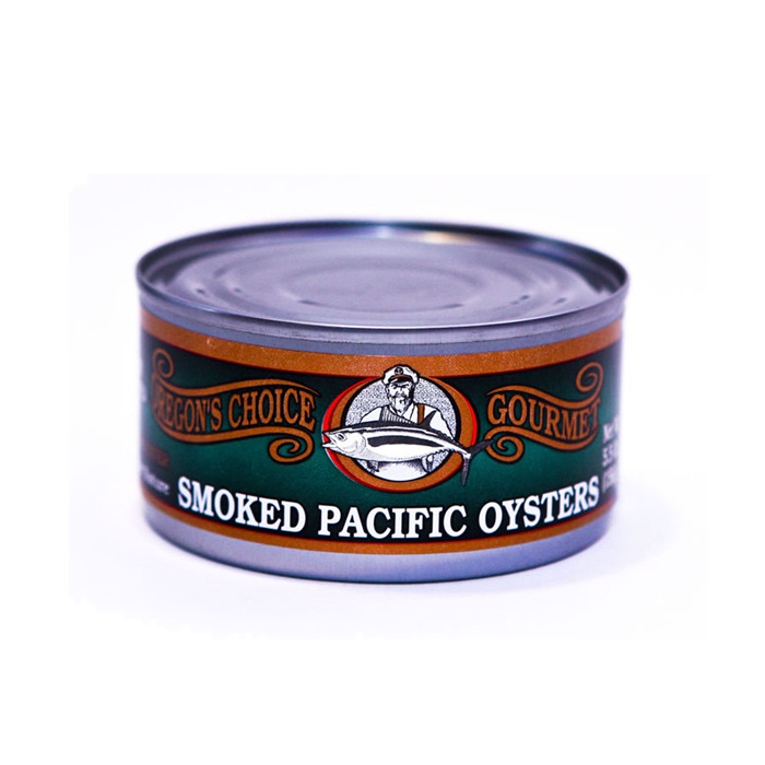 delicious canned Smoked Oyster