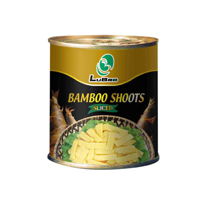 Canned bamboo shoots