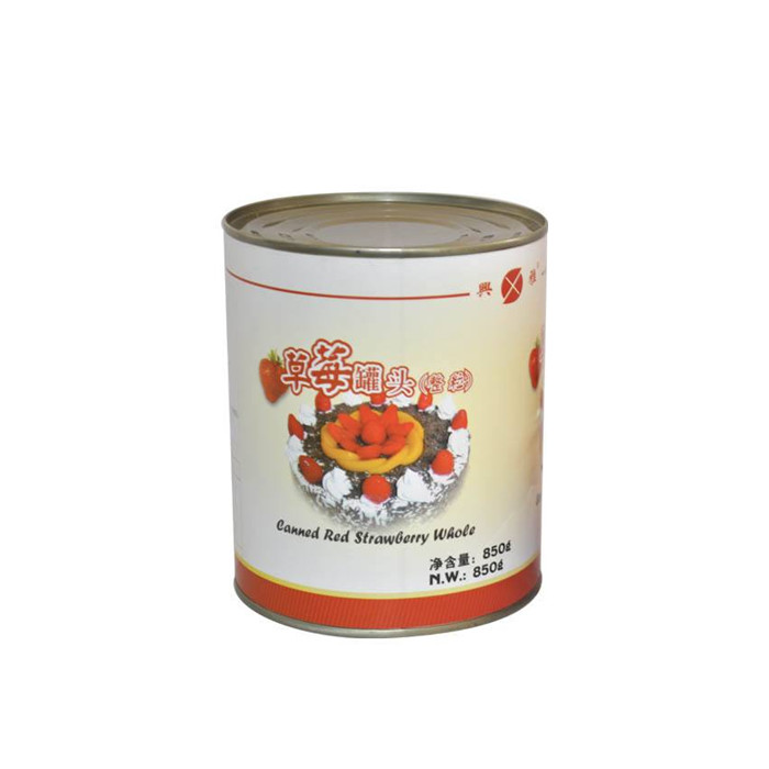 820g canned food strawberry manufacturers
