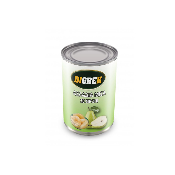 canned pear sliced