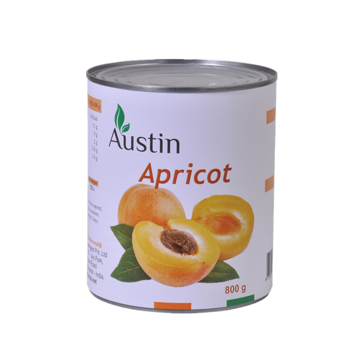 820g canned apricot in light syrup