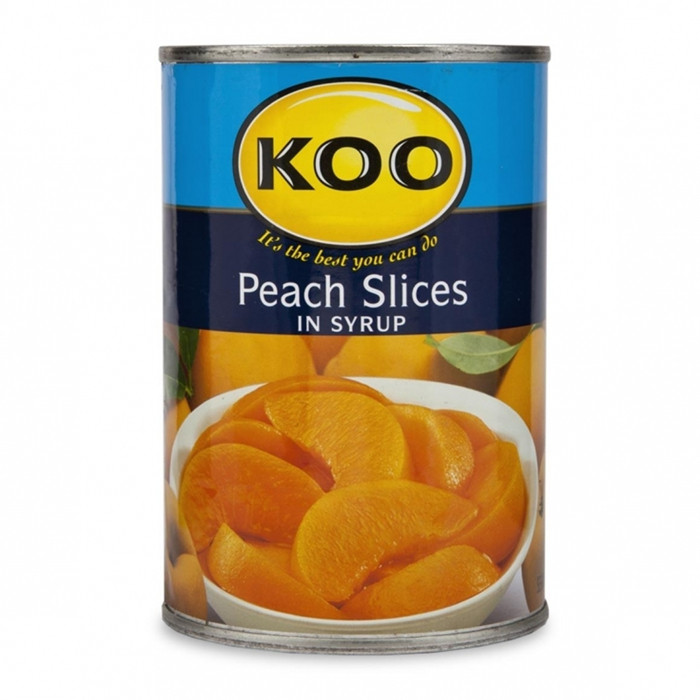 425g Canned peach gloden type