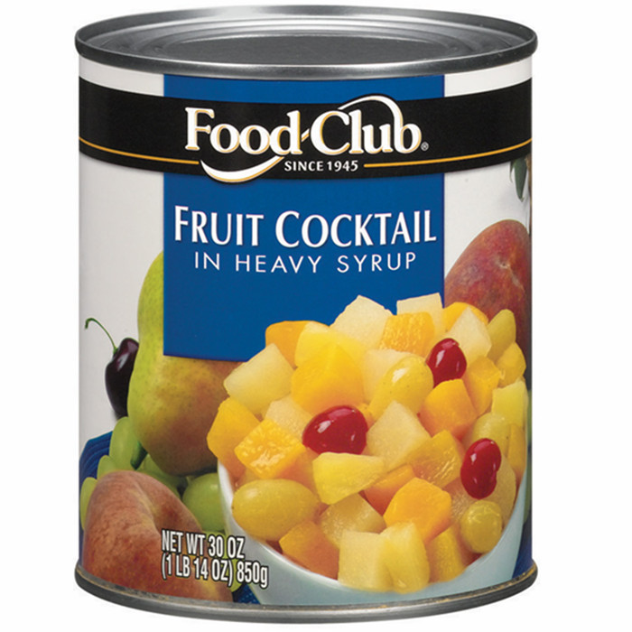 canned fruit cocktail factory