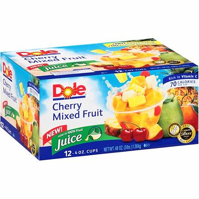 new crop canned fruit cups