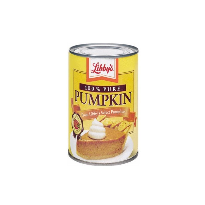 425g canned pumpkin