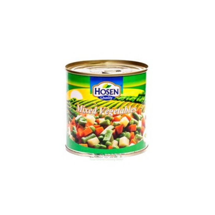 184g canned mixed vegetables