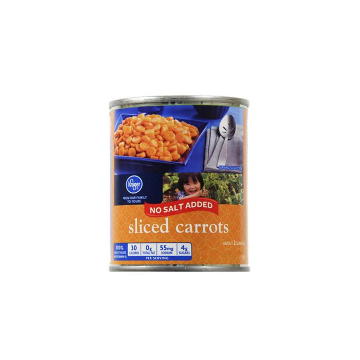 820g Fresh Chinese Canned Carrot
